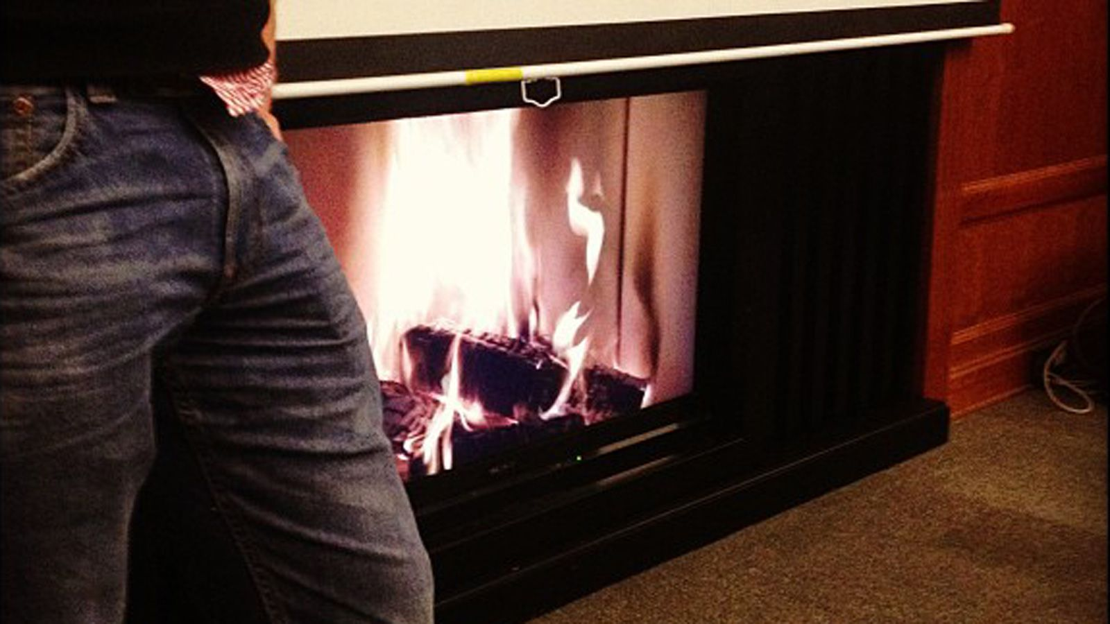 Lagerfeuer beim bcruhr