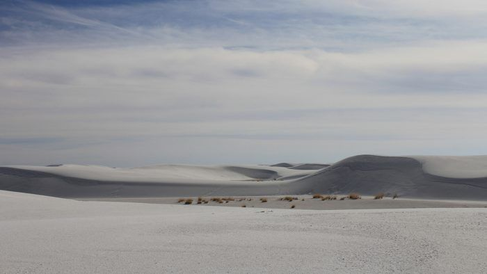 Unterwegs auf Reisen: White Sands National Monument