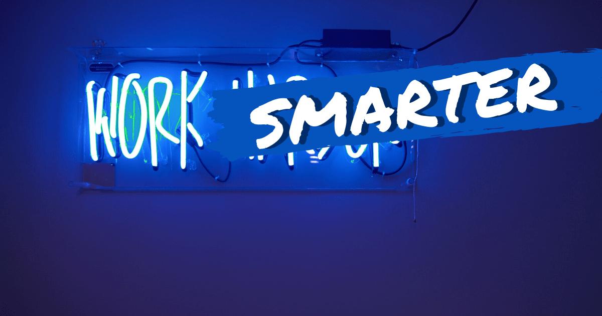 Work smarter ist das Motto im Home Office und für Remote Work